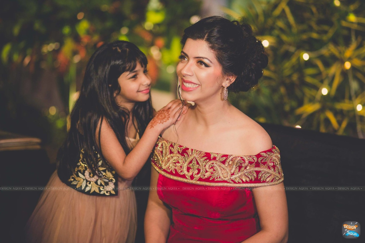 Light and Natural Makeup Complementing the Off-Shoulder Red Gown of the Bride by Priyanka Kamboj Wedding-photography Bridal-makeup   Weddings Photos & Ideas
