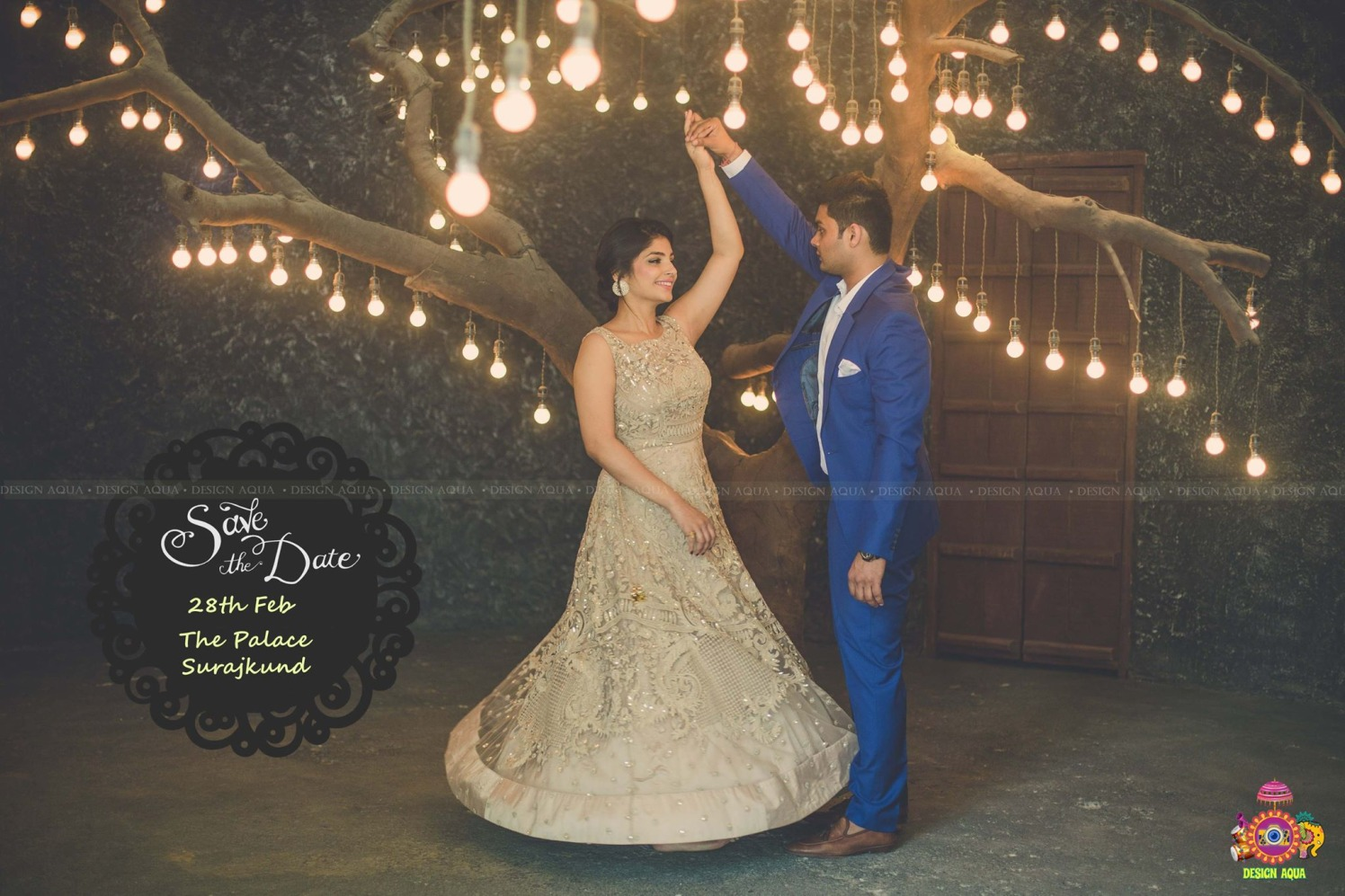 Shimmering Dull Golden Anarkali Suit Worn By Bride To-Be by Priyanka Kamboj Wedding-photography Groom-wear-and-accessories Wedding-dresses | Weddings Photos & Ideas