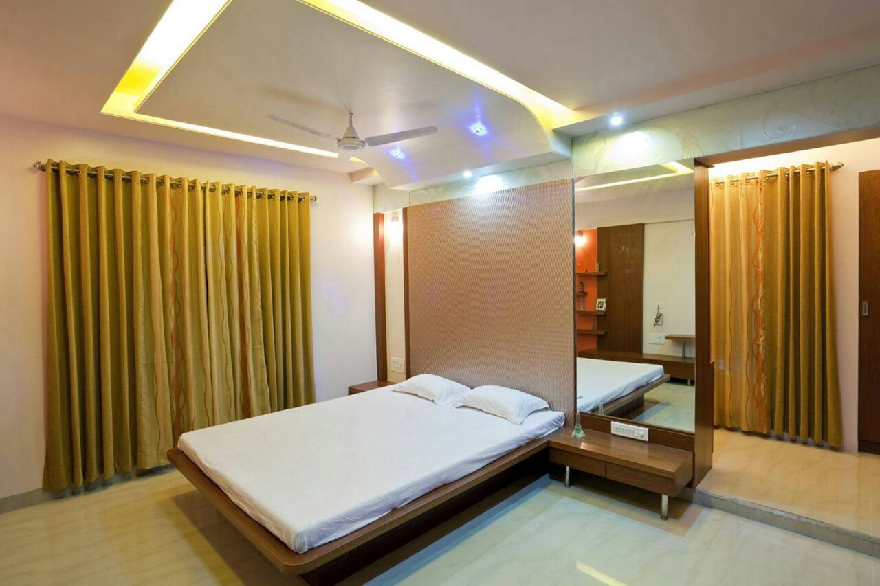 Simply Exquisite by Id designerHemangi Bedroom Minimalistic | Interior Design Photos & Ideas