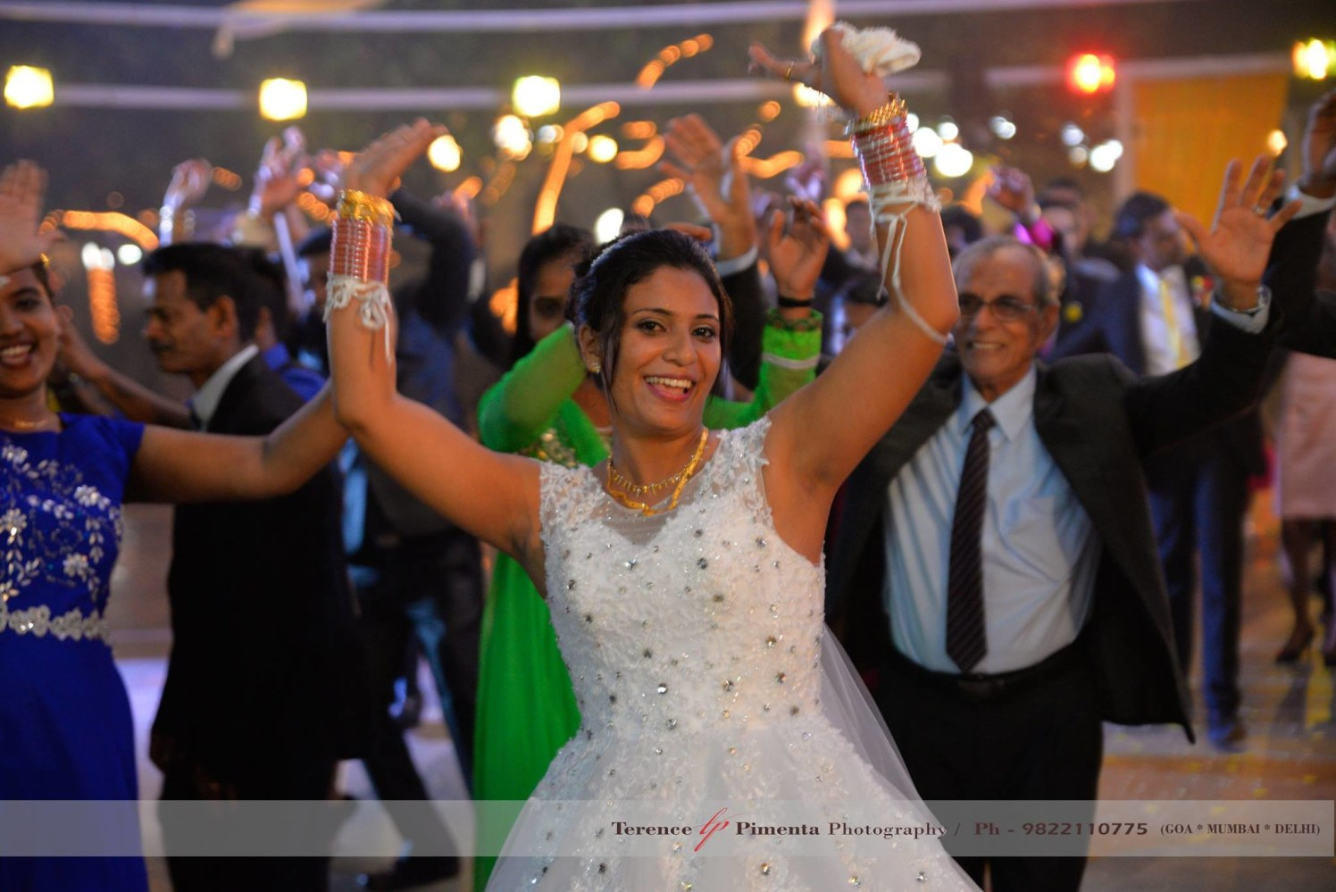 Candid Shot Of Bride Grooving On The Wedding Beats by Terence Savio Pimenta Wedding-photography | Weddings Photos & Ideas