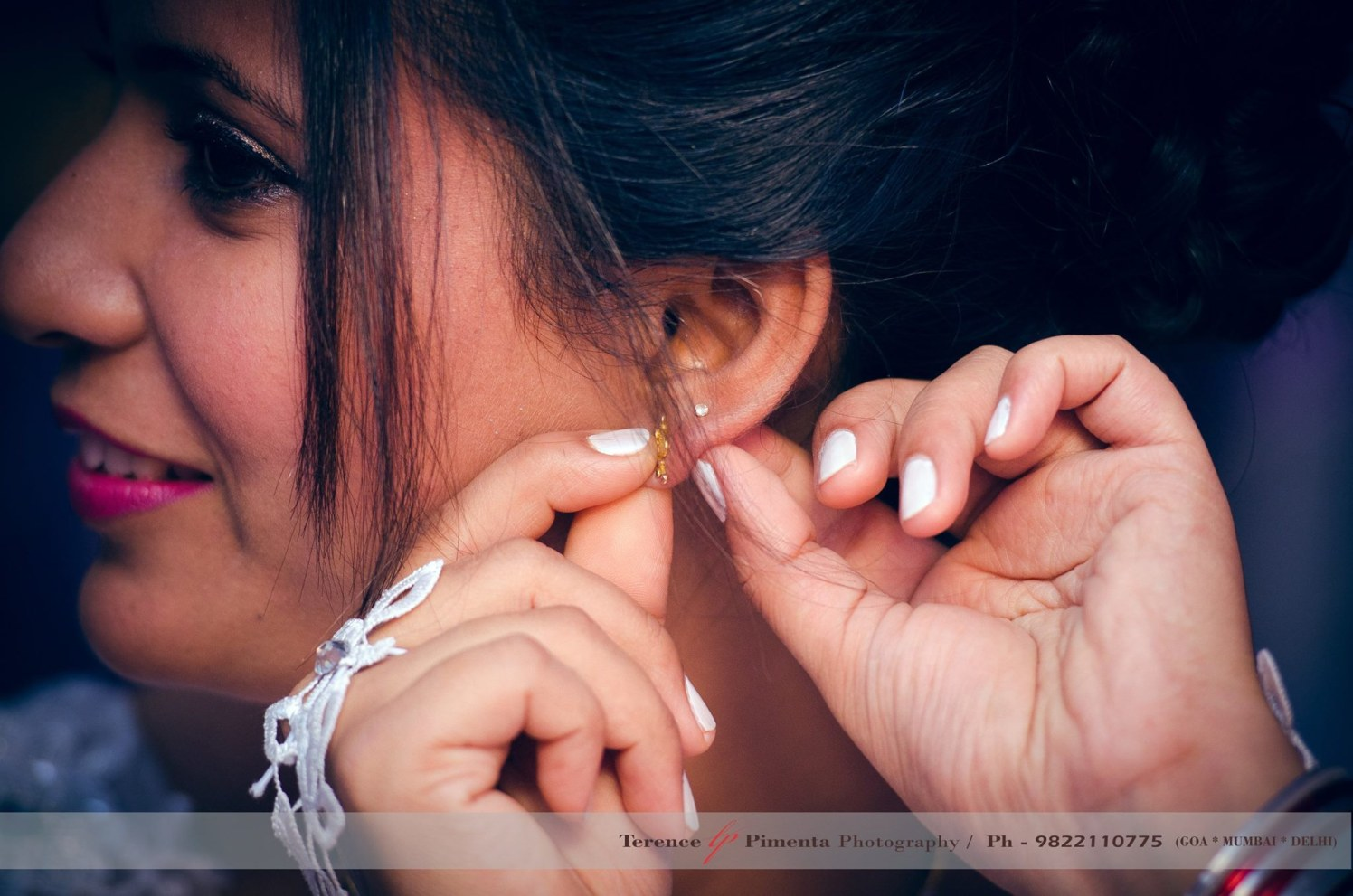 Close Shot Of Bride Getting Ready Adorned With Grace by Terence Savio Pimenta Wedding-photography | Weddings Photos & Ideas