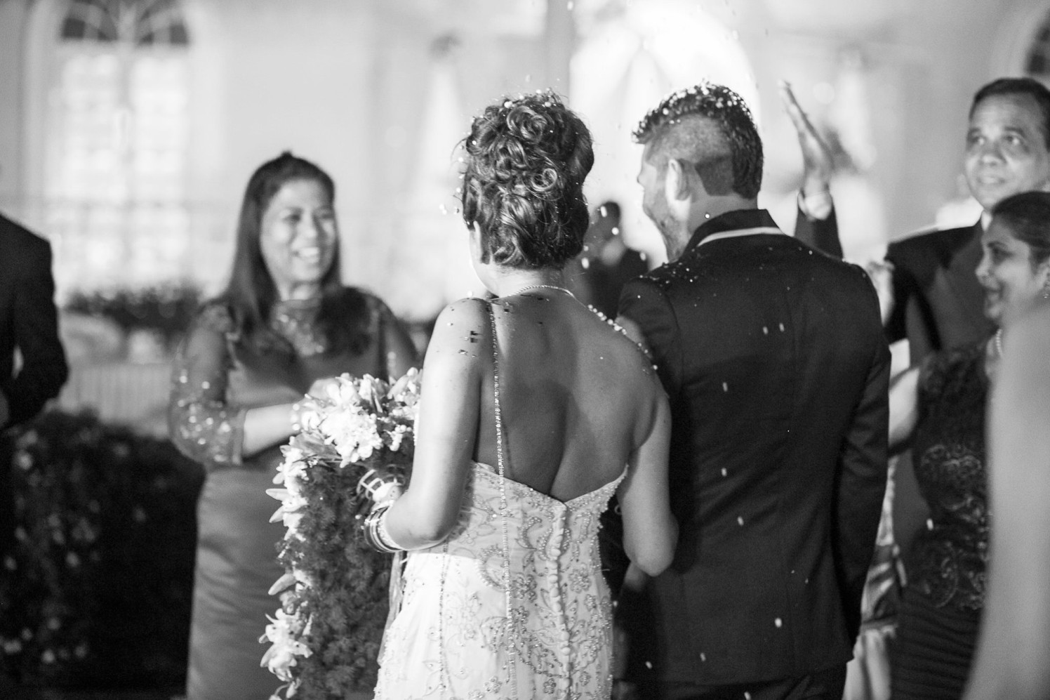 Candid Back Shot Of Christian Bridegroom During A Wedding Ceremony by Terence Savio Pimenta Wedding-photography | Weddings Photos & Ideas