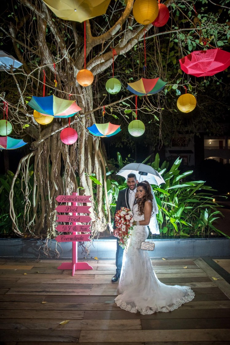 Multi-Colored Umbrellas And Ball Hangings For A Quirky Decor by Terence Savio Pimenta Wedding-photography | Weddings Photos & Ideas