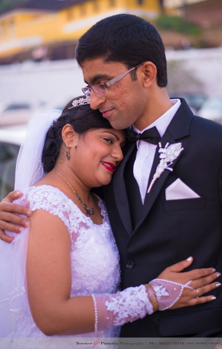 Romantic Wedding Shoot Of Christian Bridegroom Inspiring Affection by Terence Savio Pimenta Wedding-photography | Weddings Photos & Ideas