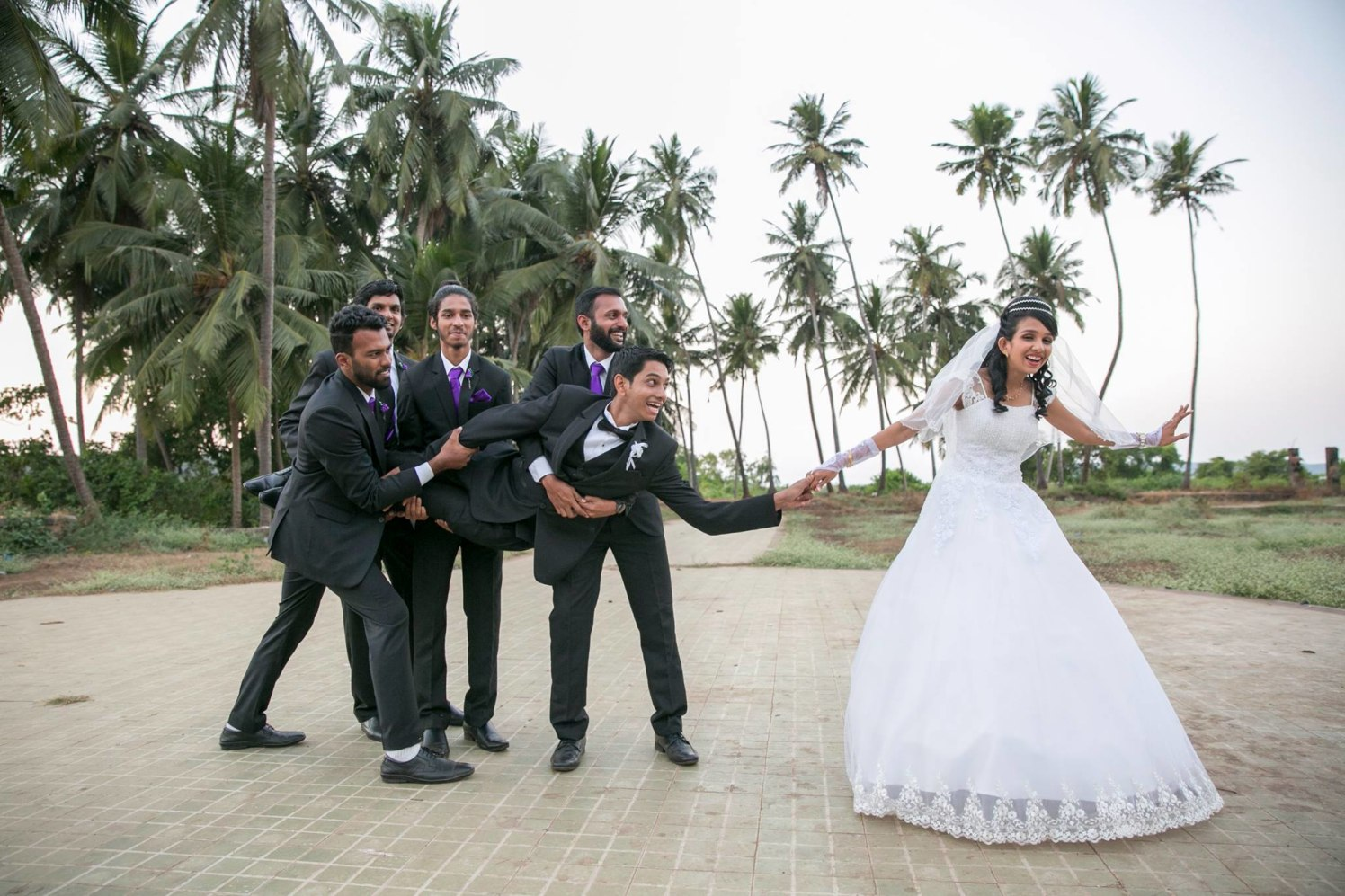 Fun Stylized Wedding Shoot With Groom's Squad And Bridegroom by Terence Savio Pimenta Wedding-photography | Weddings Photos & Ideas