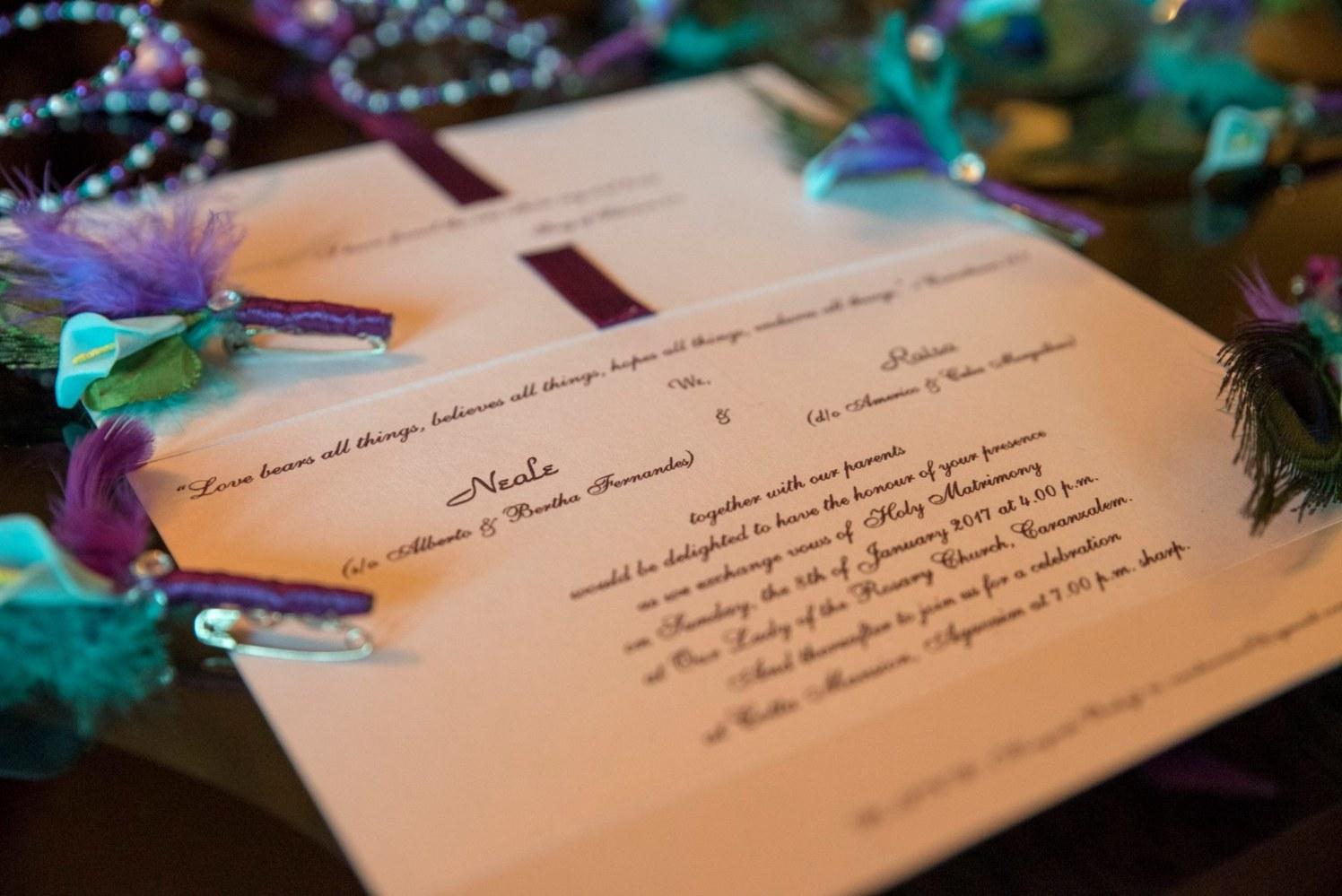 Wedding Invite For The Big Day by Terence Savio Pimenta Wedding-photography | Weddings Photos & Ideas
