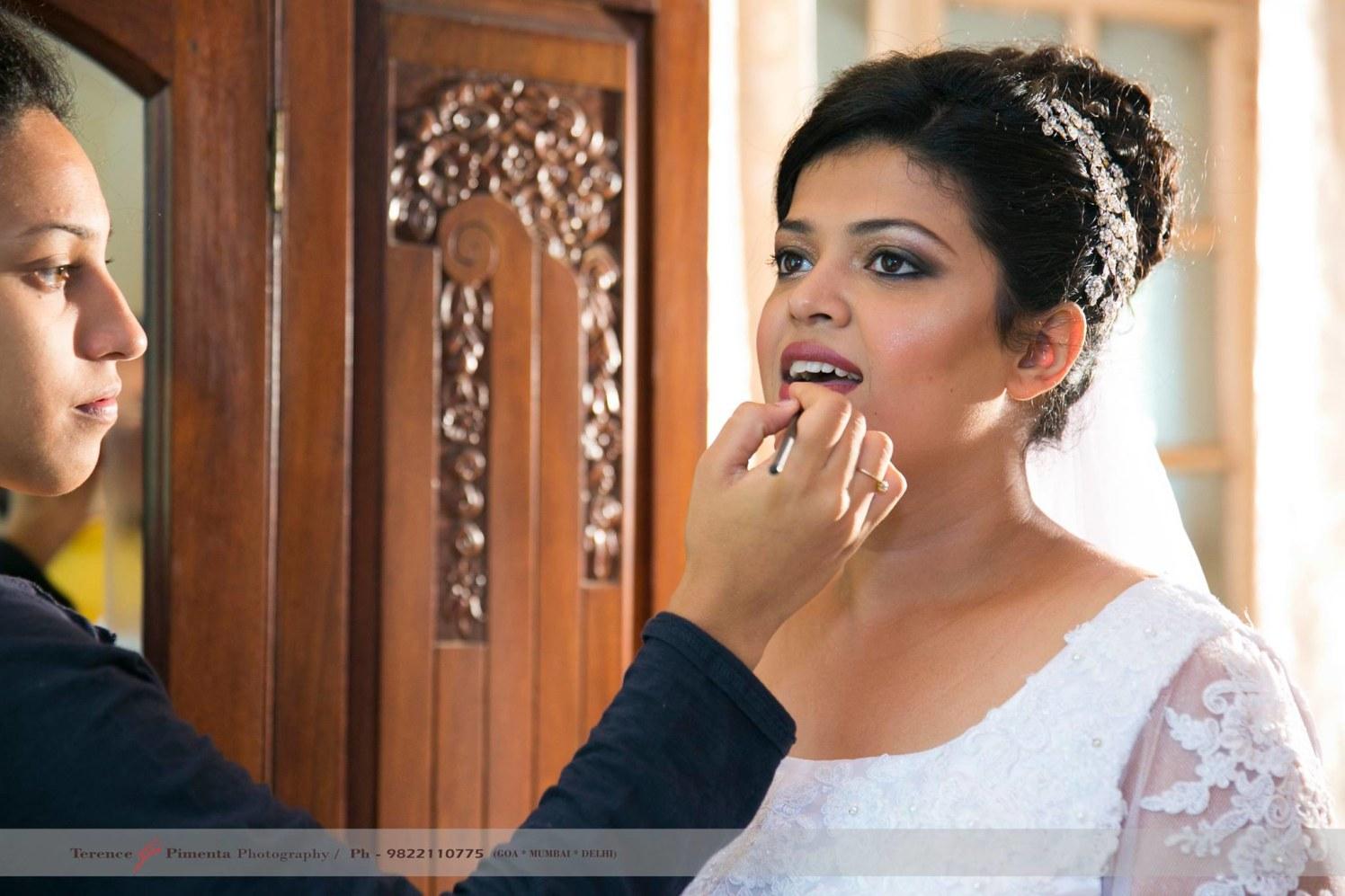 Lighting And Natural Makeup For Daylight Wedding by Terence Savio Pimenta Wedding-photography Bridal-makeup | Weddings Photos & Ideas