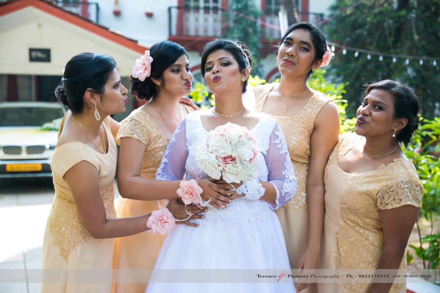 Extravagant Pouting Beauties by Terence Savio Pimenta Wedding-photography | Weddings Photos & Ideas