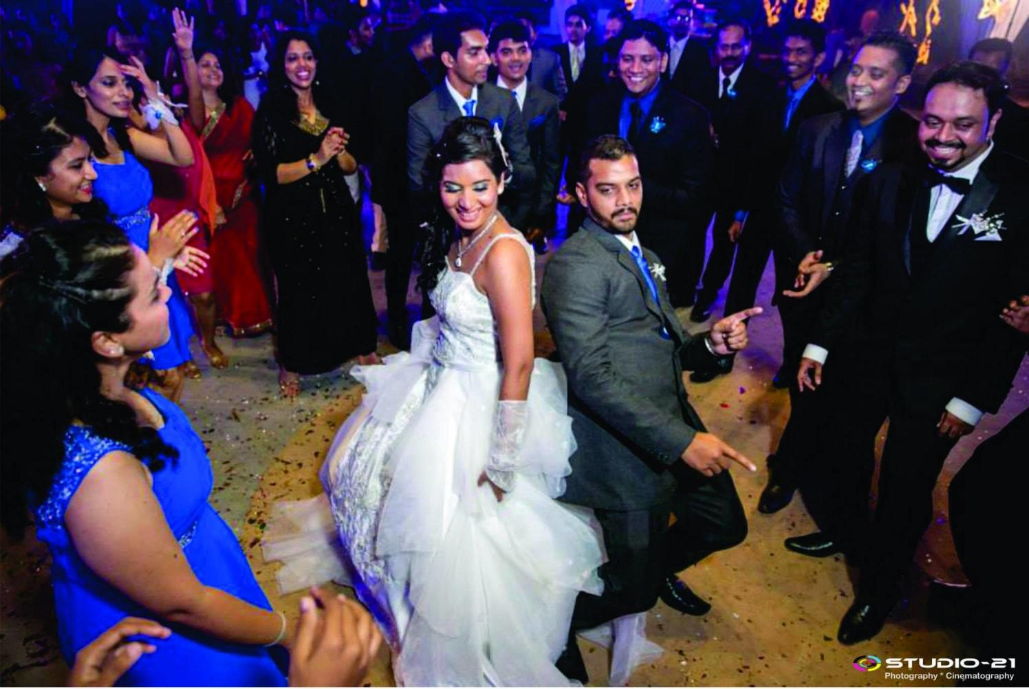 Candid Shot Of Bridegroom Swaying On The Dancefloor by Terence Savio Pimenta Wedding-photography | Weddings Photos & Ideas