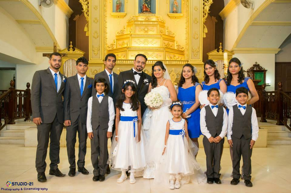 Traditional Group Shot Of Convivial Bridegroom With Their Peers by Terence Savio Pimenta Wedding-photography | Weddings Photos & Ideas