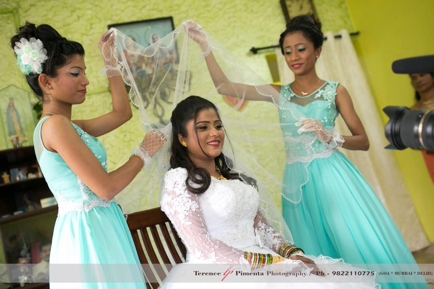 Enchanted Glister Of Christian Bride On Bridal Photoshoot by Terence Savio Pimenta Wedding-photography | Weddings Photos & Ideas
