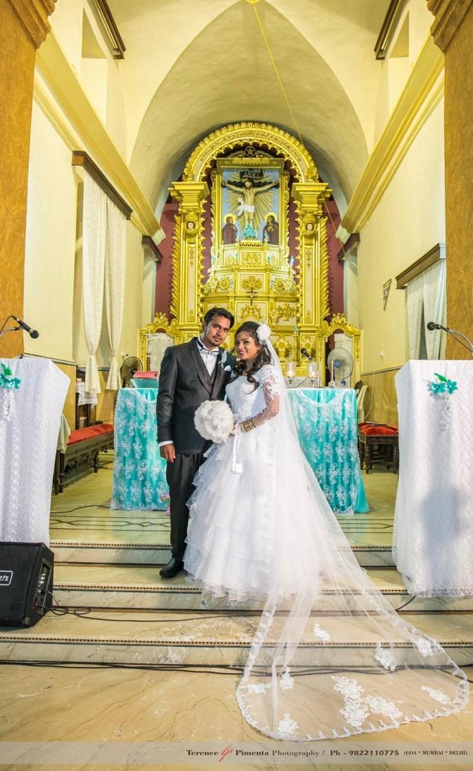 Traditional Shot Of Heavenly Christian Bridegroom At The Altar by Terence Savio Pimenta Wedding-photography | Weddings Photos & Ideas