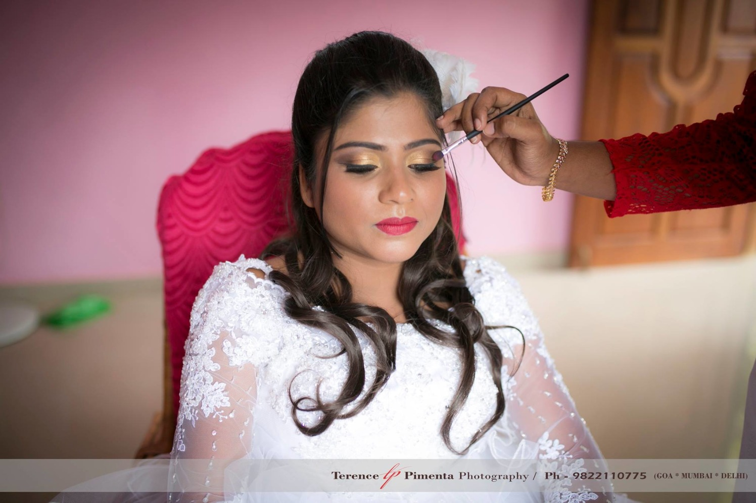 Beauteous Bride Getting Ready by Terence Savio Pimenta Wedding-photography Bridal-makeup | Weddings Photos & Ideas
