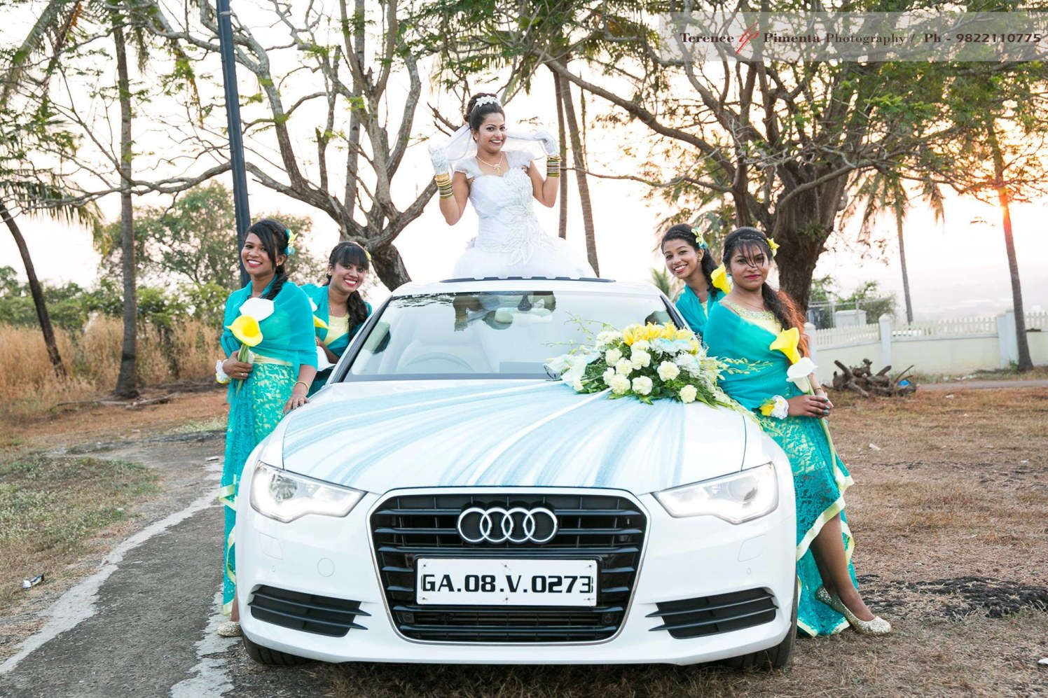 Grandly Amazing Bridal Shoot With Bridesmaids by Terence Savio Pimenta Wedding-photography | Weddings Photos & Ideas