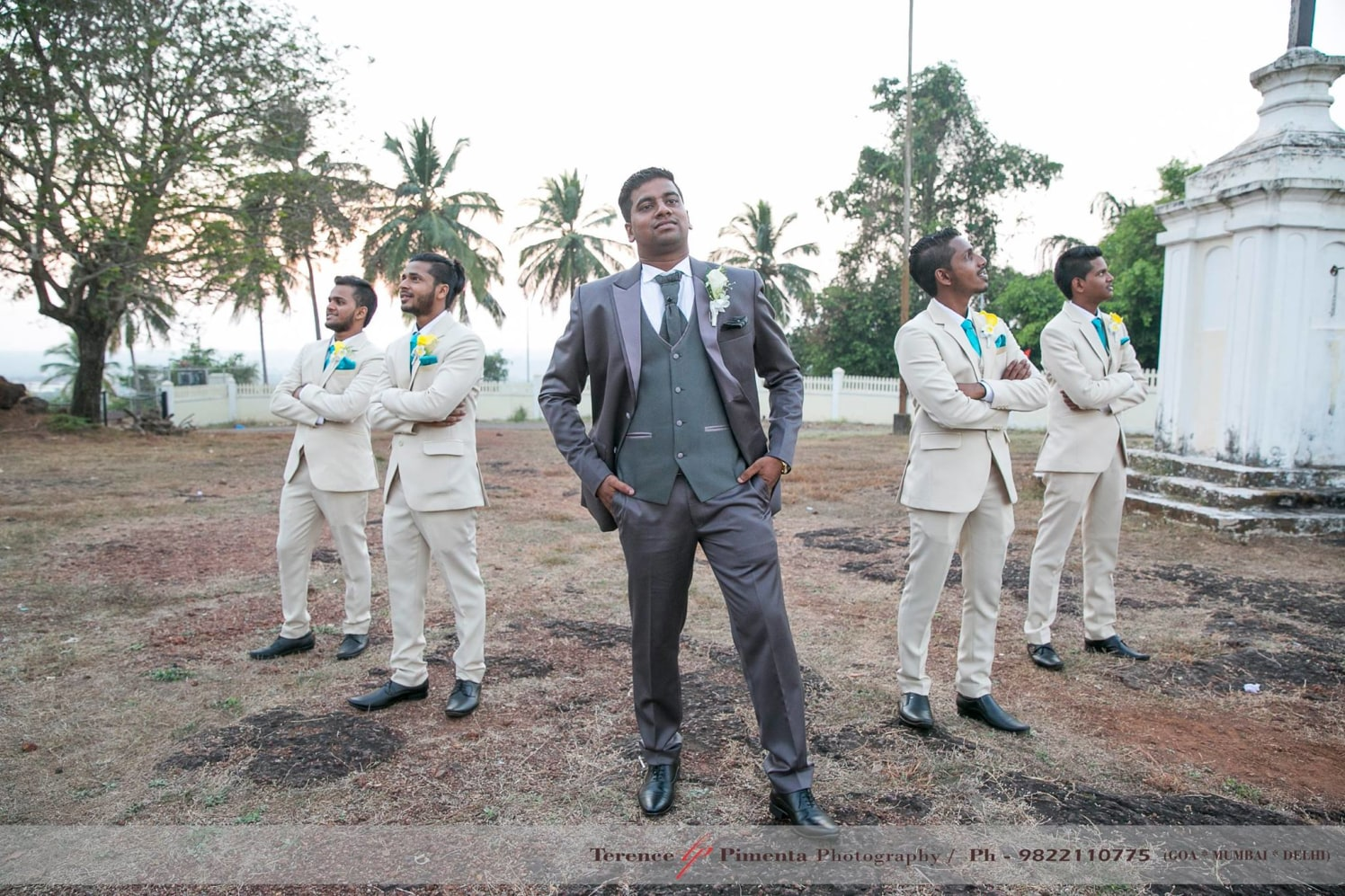Dapper Groom Striking Pose For Wedding Shoot by Terence Savio Pimenta Wedding-photography | Weddings Photos & Ideas