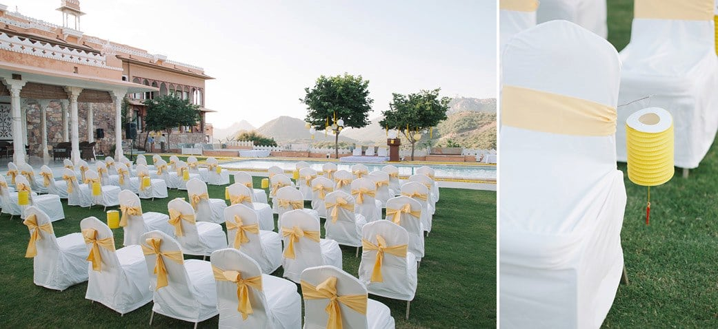 Elegant And Sophisticated White And Golden Seating Decor For Your d-Day by Navdeep Soni Wedding-decor | Weddings Photos & Ideas
