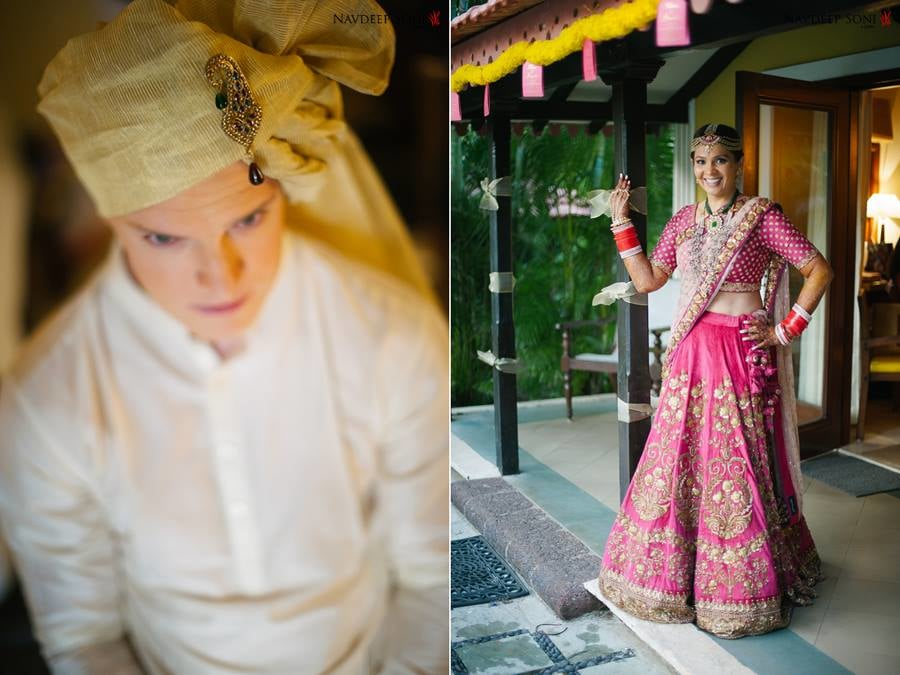 Bride and groom portrait by Navdeep Soni Photography Wedding-photography | Weddings Photos & Ideas