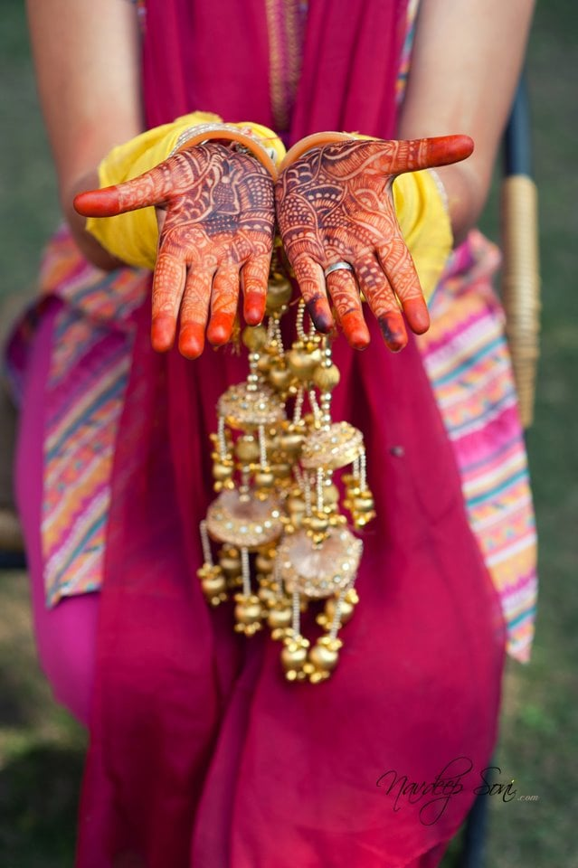 Vibrant Mehendi Result Post Mehendi by Navdeep Soni Bridal-mehendi | Weddings Photos & Ideas