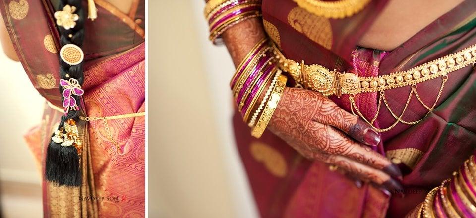 South Indian bridal saree by Navdeep Soni Photography Wedding-photography | Weddings Photos & Ideas