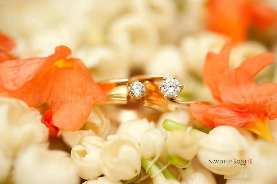 Exquisite Diamond Matrimonial Rings by Navdeep Soni Wedding-photography Bridal-jewellery-and-accessories | Weddings Photos & Ideas
