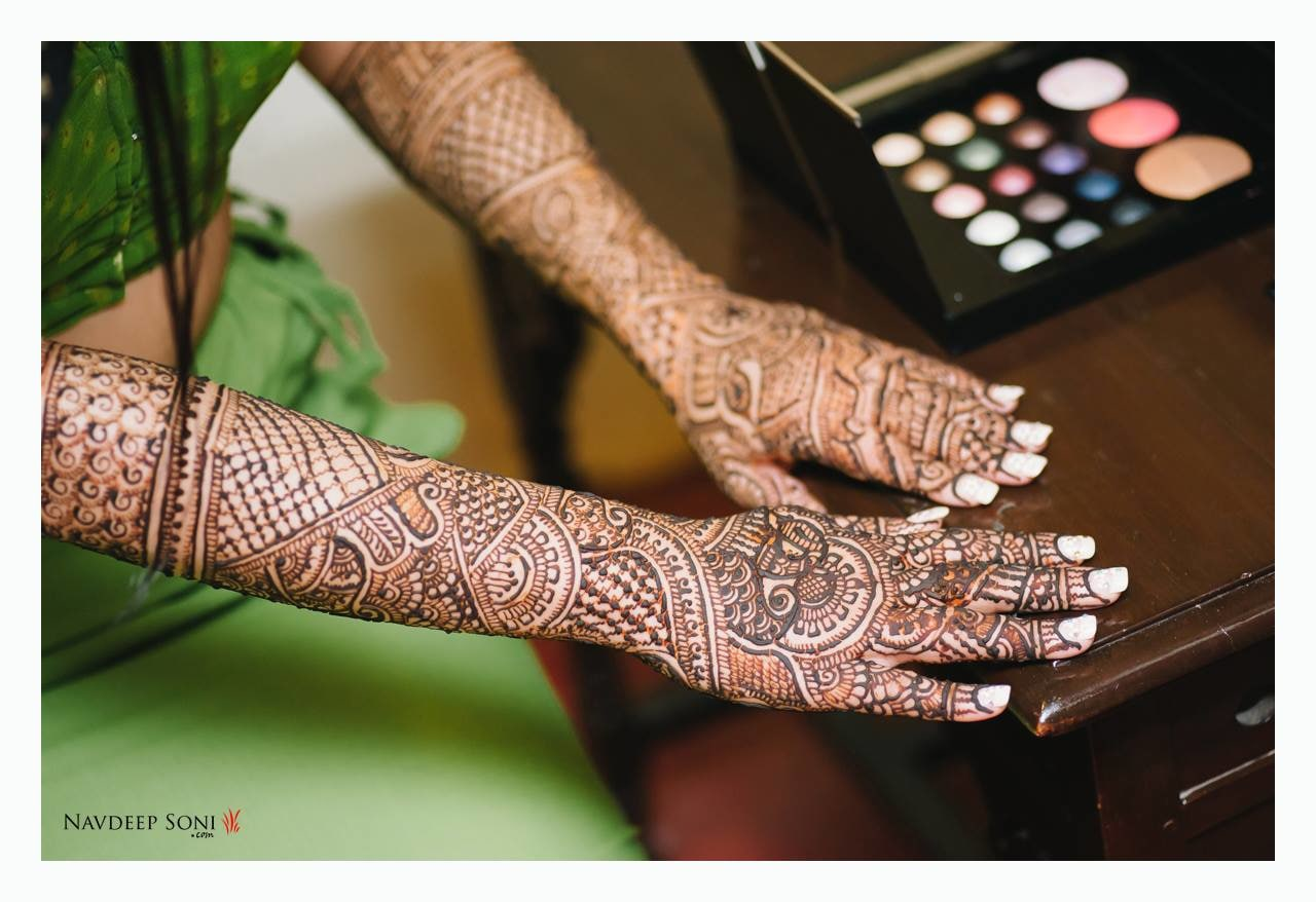 Astounding Mehendi Art by Navdeep Soni Bridal-mehendi | Weddings Photos & Ideas