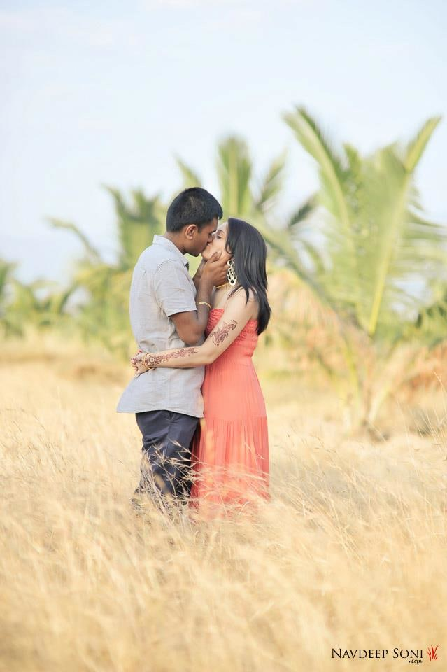 A Passionate Pre Wedding Shoot Amidst The Nature by Navdeep Soni Wedding-photography | Weddings Photos & Ideas