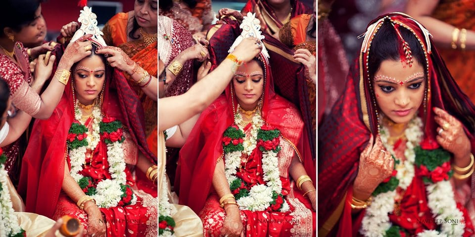 Bengali bride by Navdeep Soni Photography Wedding-photography | Weddings Photos & Ideas