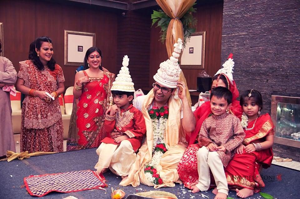 Bengali wedding procession by Navdeep Soni Photography Wedding-photography | Weddings Photos & Ideas