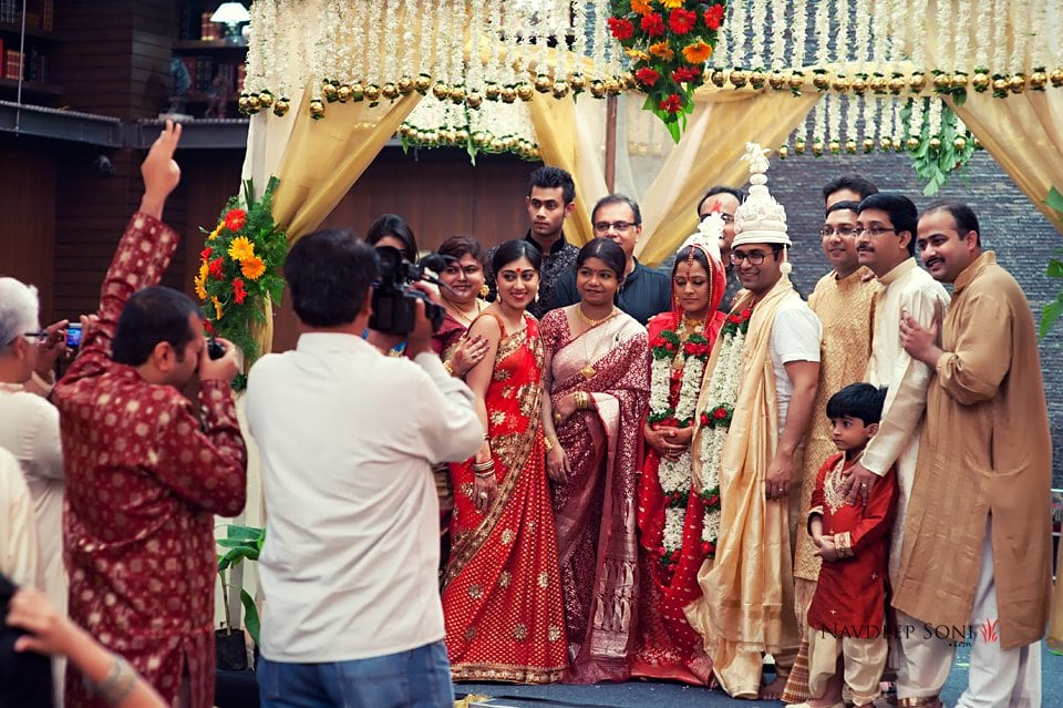 This Is What A Big Fat Bengali Wedding Looks Like by Navdeep Soni Wedding-photography | Weddings Photos & Ideas