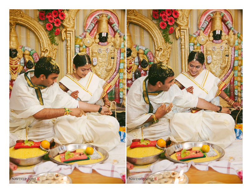 Candid Shot Of A Typical South Indian Bridegroom Amidst A Wedding Ritual by Navdeep Soni Wedding-photography | Weddings Photos & Ideas