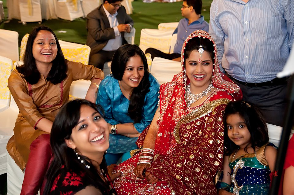 Indian bride with family by Navdeep Soni Photography Wedding-photography | Weddings Photos & Ideas