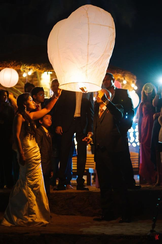 White Sky Lantern Paper Light Lamp by Navdeep Soni Wedding-photography | Weddings Photos & Ideas