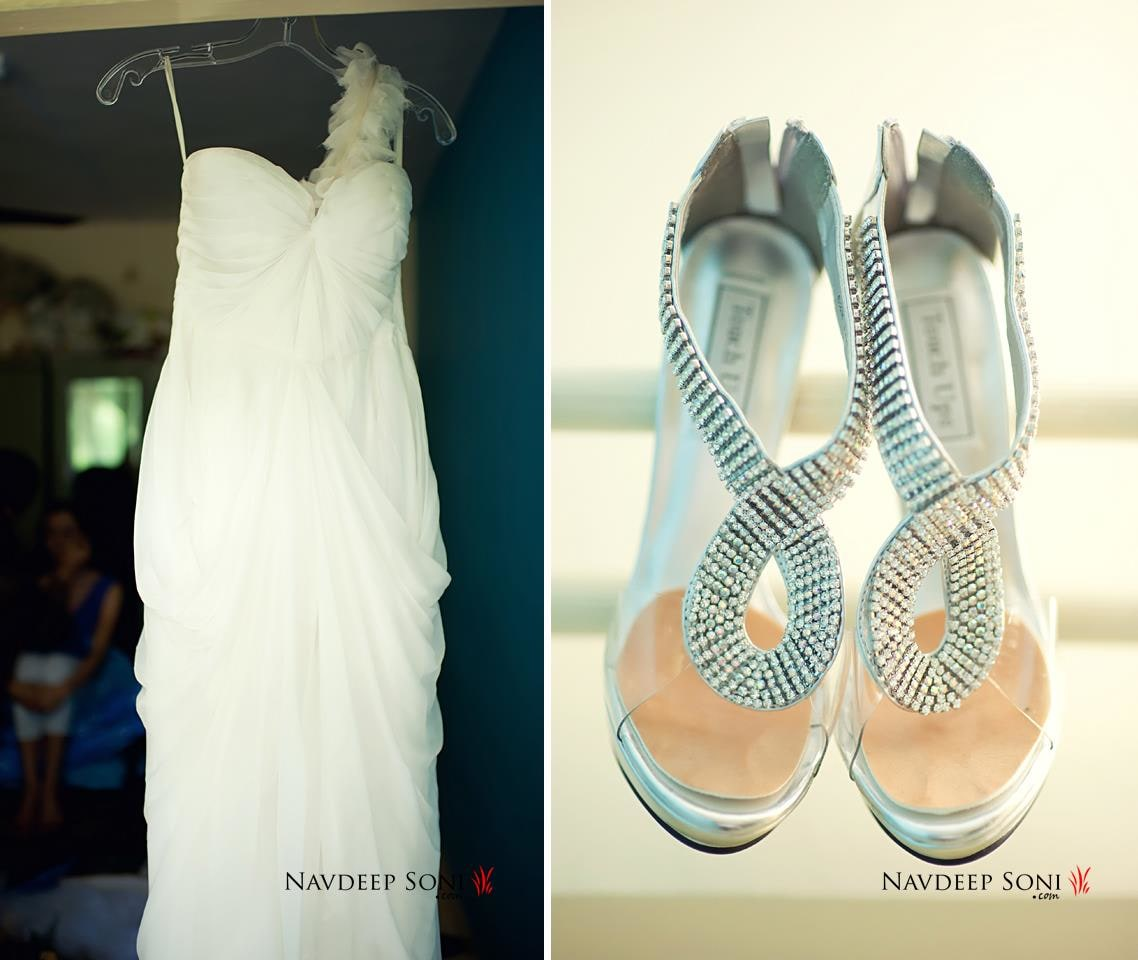 Bridal dress and footwear by Navdeep Soni Photography Wedding-photography | Weddings Photos & Ideas