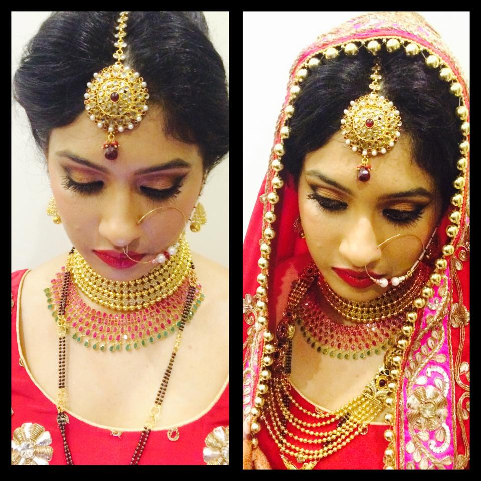 Bridal look. by Nayab Jumani Bridal-makeup | Weddings Photos & Ideas