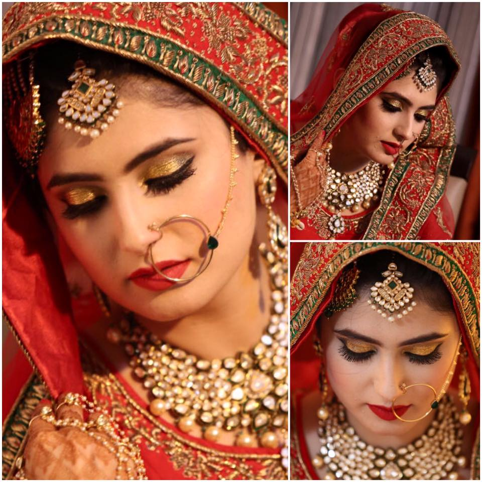 Photogenic bride. by Artee Chauhan  Bridal-makeup | Weddings Photos & Ideas