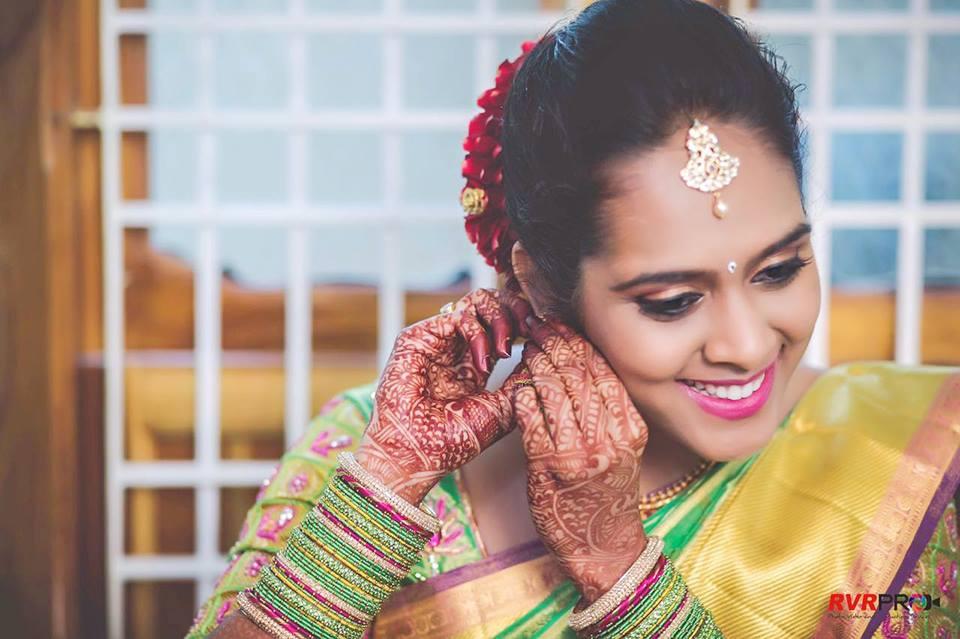 Bride in creation by Manasa Bridal-makeup | Weddings Photos & Ideas