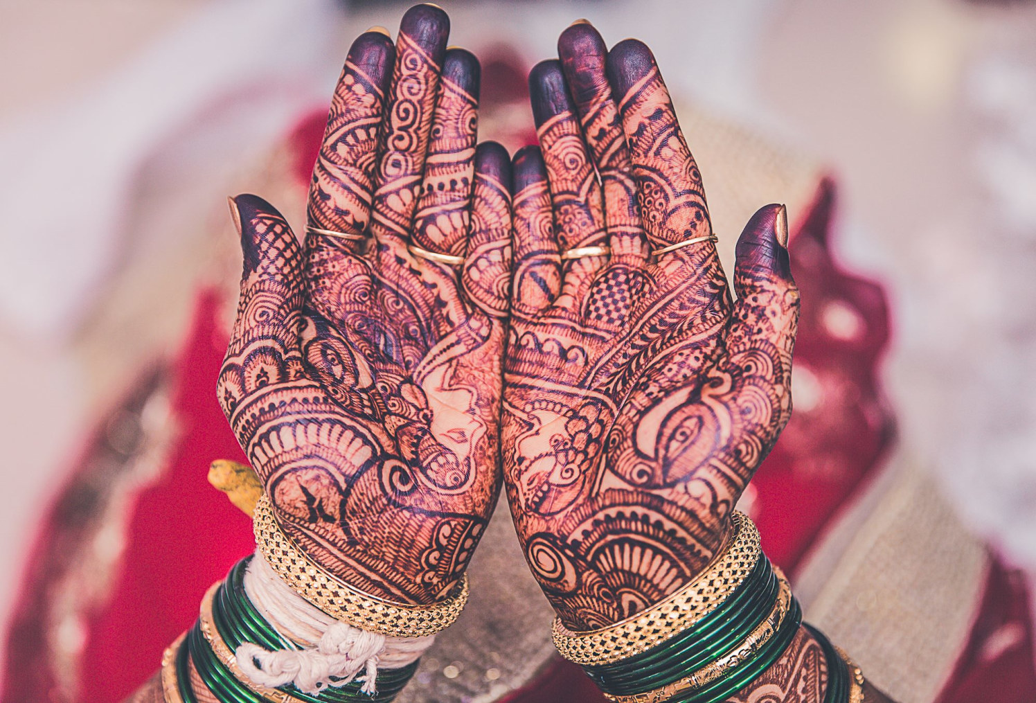 Peacock styled mehendi by Fahim Sayed Wedding-photography | Weddings Photos & Ideas