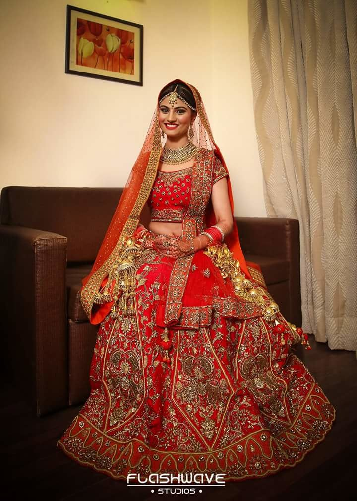 The bride looking magnificent on her day! by Kavita Koparkar Bridal-makeup | Weddings Photos & Ideas