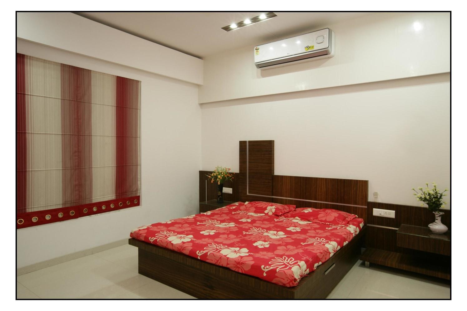 Subtle Sleep by RS Design Bedroom Contemporary   Interior Design Photos & Ideas