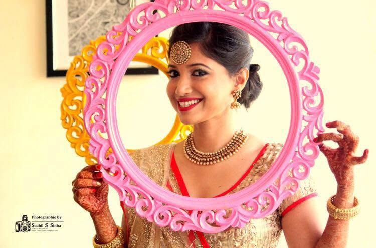 Pre possessing gape by Deepika Dhambeer Bridal-makeup | Weddings Photos & Ideas