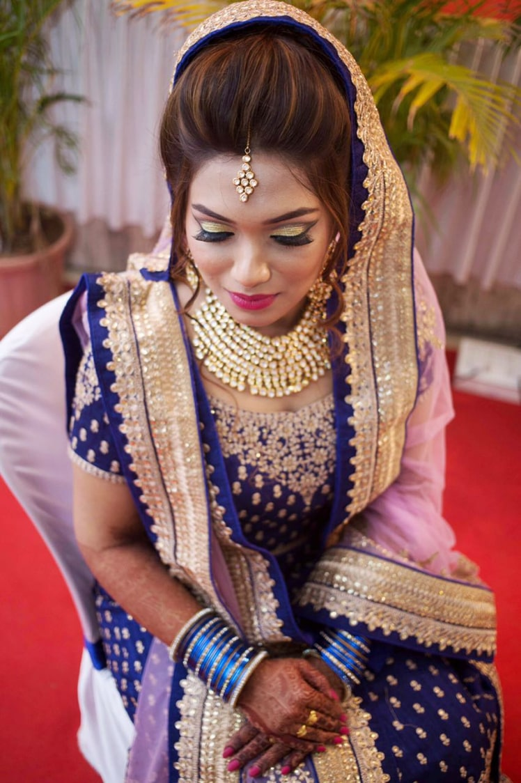 Gaze of perfection by Deepika Dhambeer Bridal-makeup | Weddings Photos & Ideas