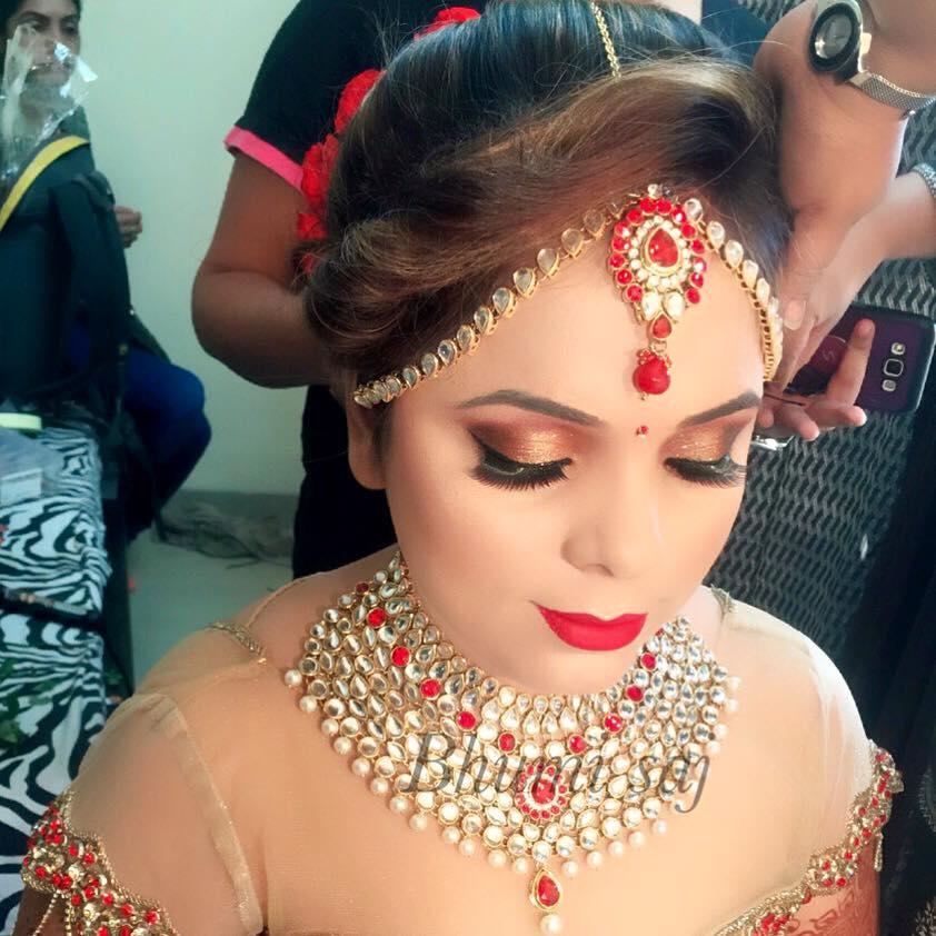 Striking bride look by Bhumika Sajnani  Bridal-makeup | Weddings Photos & Ideas