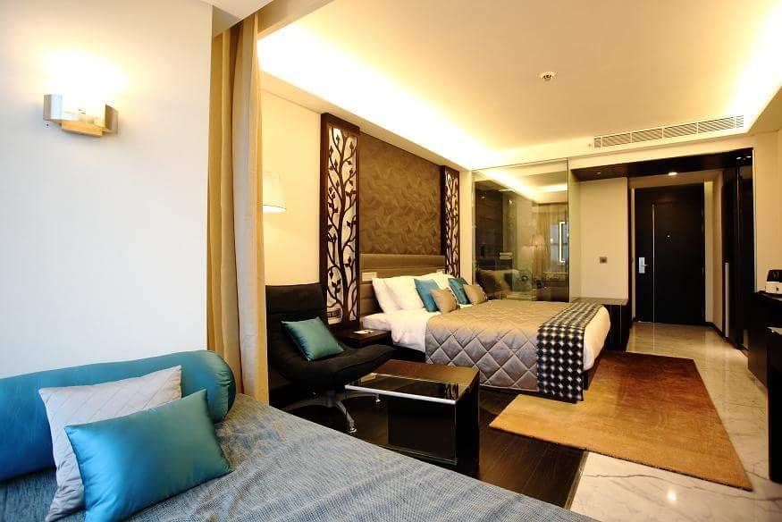 Artistic Twin  Bedroom by R. Gautam Jain Bedroom Contemporary | Interior Design Photos & Ideas