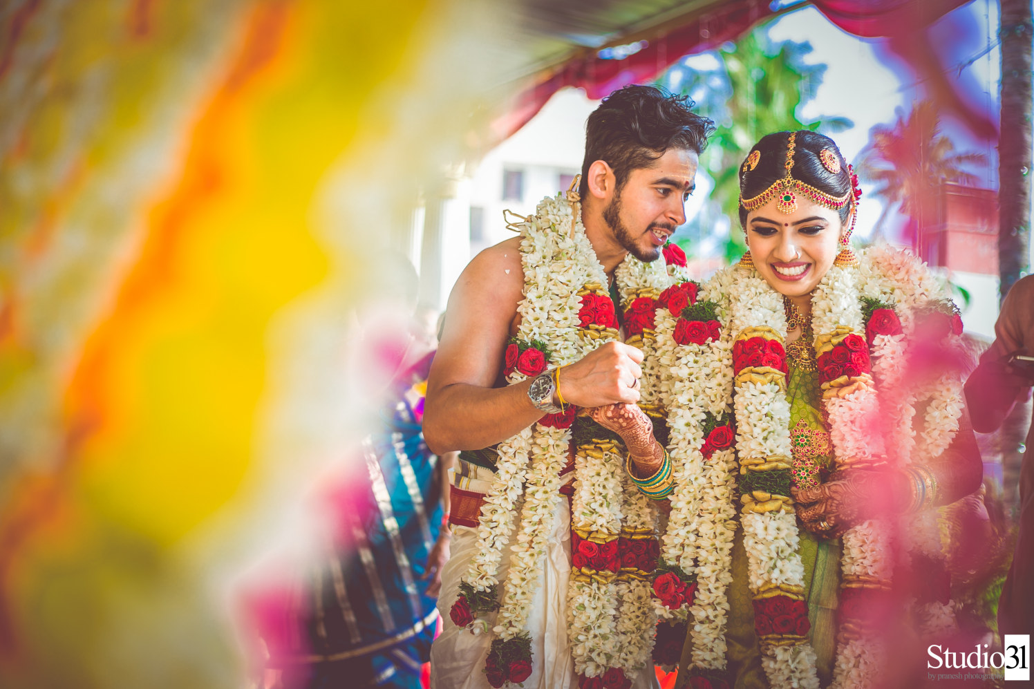 She is his happiness by Studio 31 by Pranesh Photography Wedding-photography | Weddings Photos & Ideas