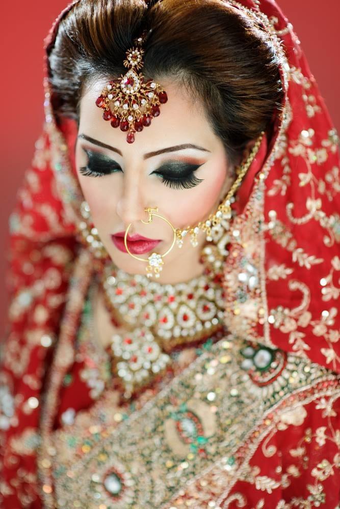 Astonishing bridal rouge by Karishma Trehan Bridal-makeup | Weddings Photos & Ideas