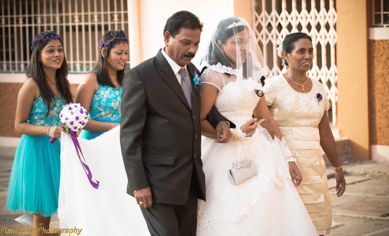 Bride Making Her Entry With Her Father by Lloyd Bangera Wedding-photography | Weddings Photos & Ideas