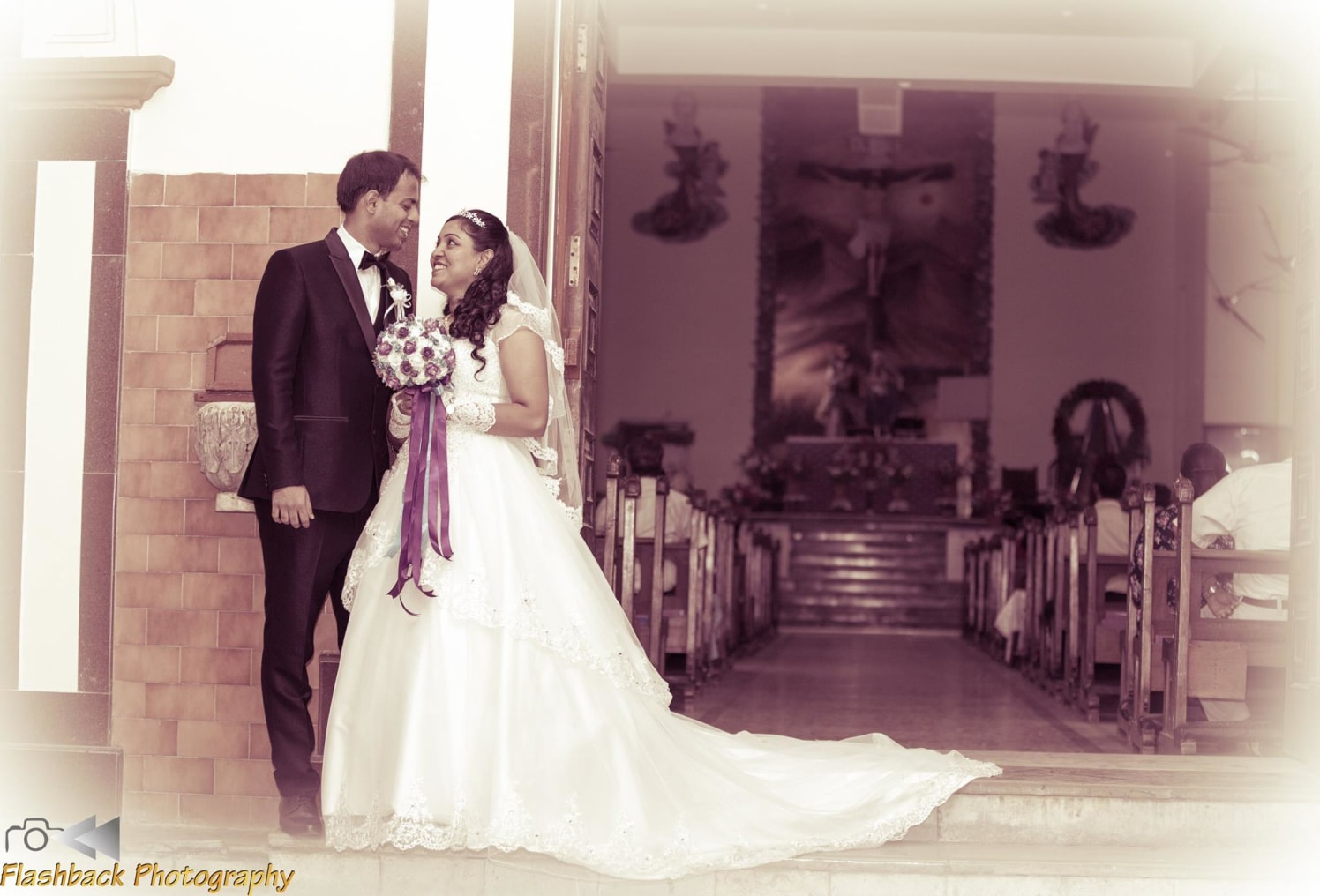 Bride and Groom Looking Elegant in Black and White by Lloyd Bangera Wedding-photography | Weddings Photos & Ideas