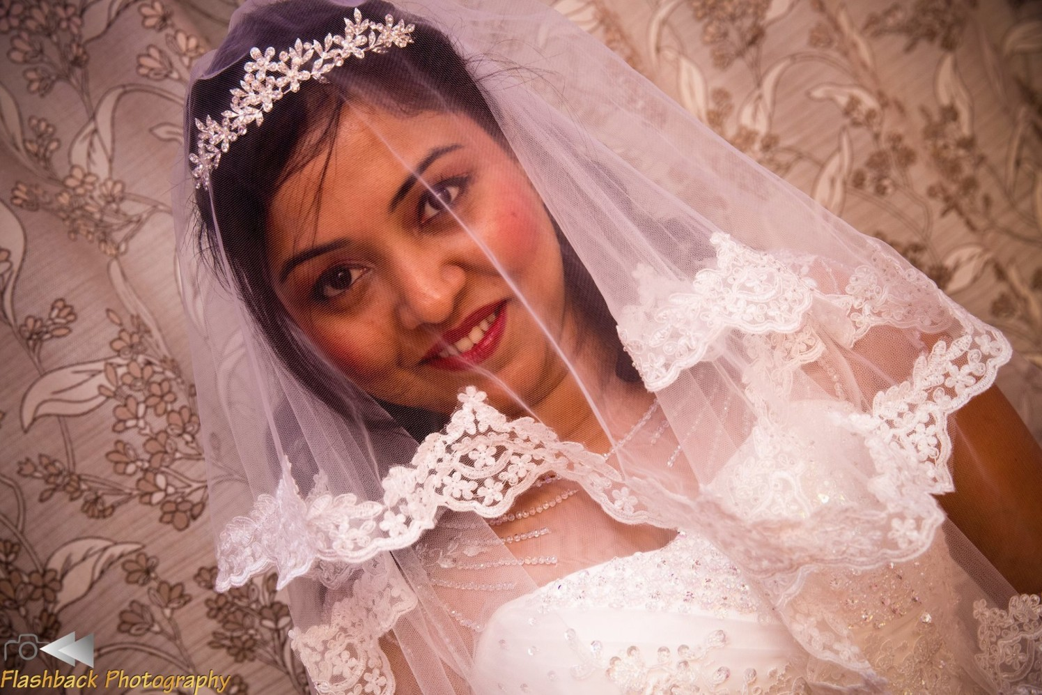 Christian Bride Wearing Traditional Veil by Lloyd Bangera Wedding-photography | Weddings Photos & Ideas