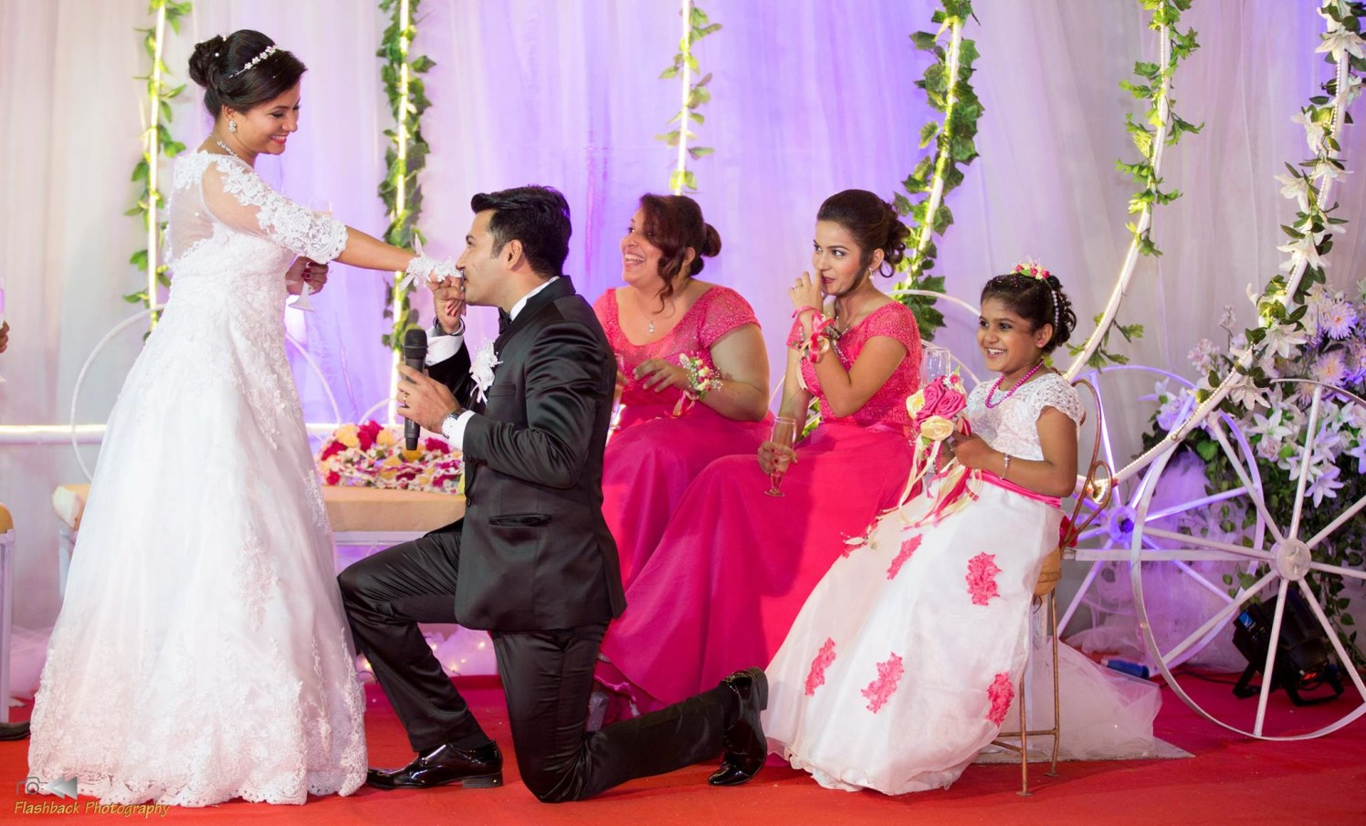 Candid Moment of Groom Proposing the Bride by Lloyd Bangera Wedding-photography | Weddings Photos & Ideas