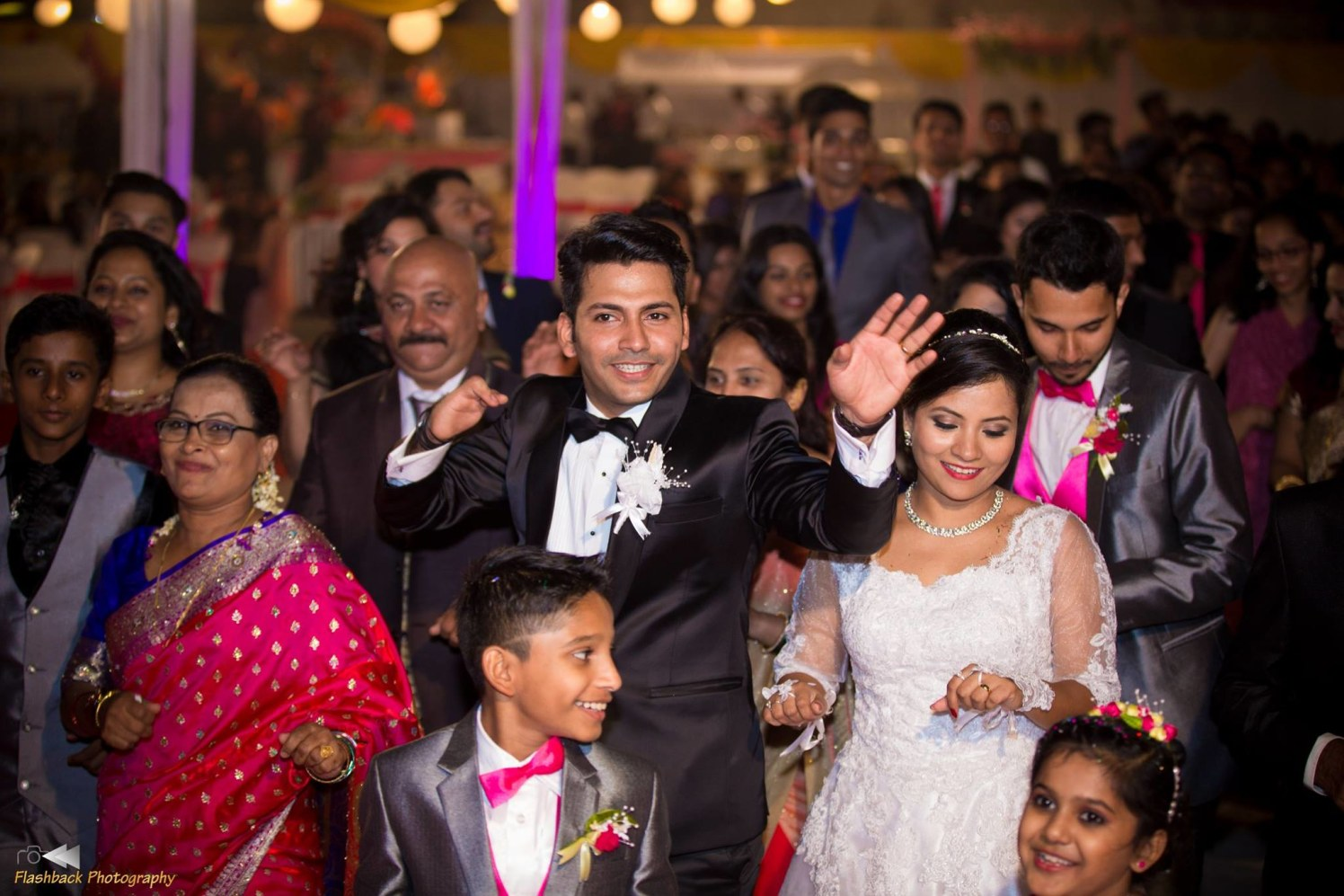 Candid Capture Christian Bride and Groom's Entry by Lloyd Bangera Wedding-photography | Weddings Photos & Ideas